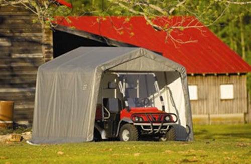 Shelter King Sheds : Shelterlogic ft peak style storage