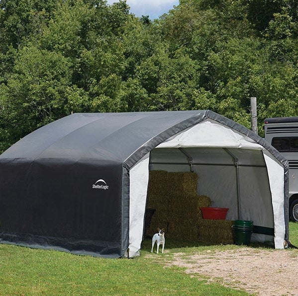 Heavy Duty Shelters : Shelterlogic accelaframe heavy duty shelter