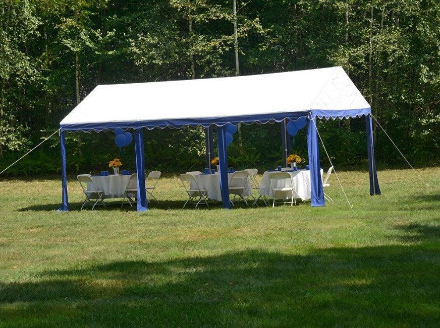 Shelterlogic Heavy Duty 10 X 20 Party Tent 2588 Ebay