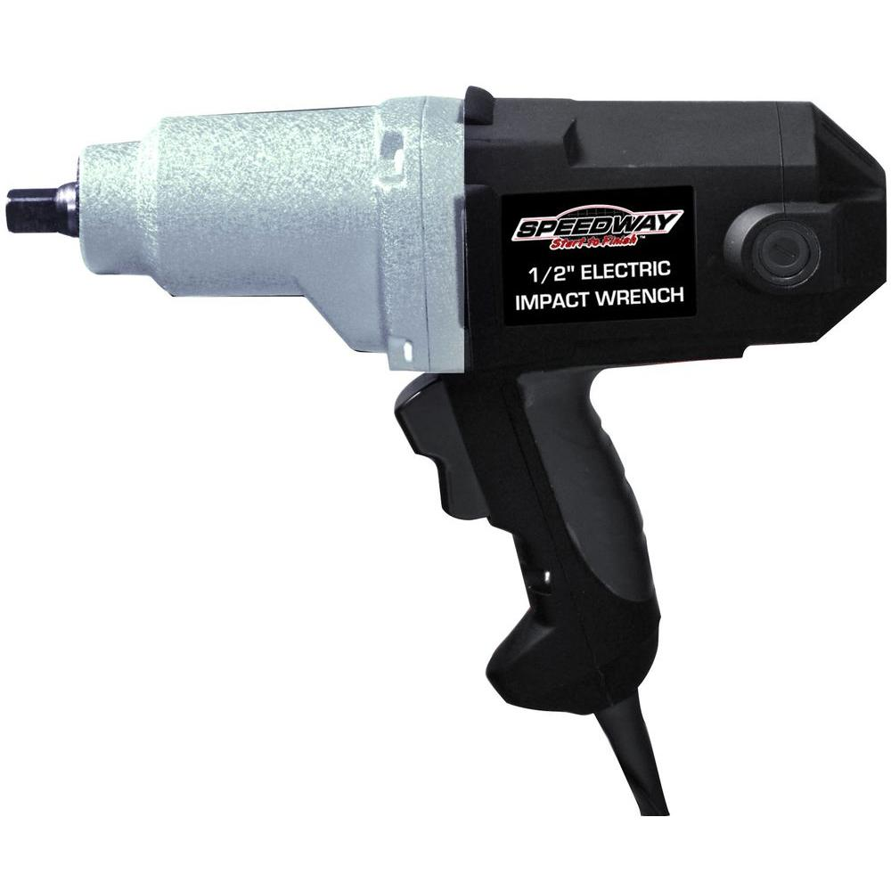 speedway 110 volt 1 2 electric impact wrench 46692 ebay. Black Bedroom Furniture Sets. Home Design Ideas