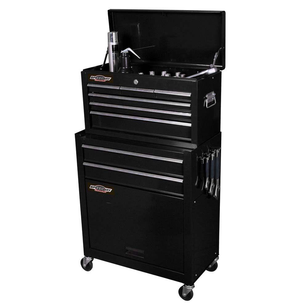 Speedway 24 Inch Portable Tool Chest Cabinet Combo 7238