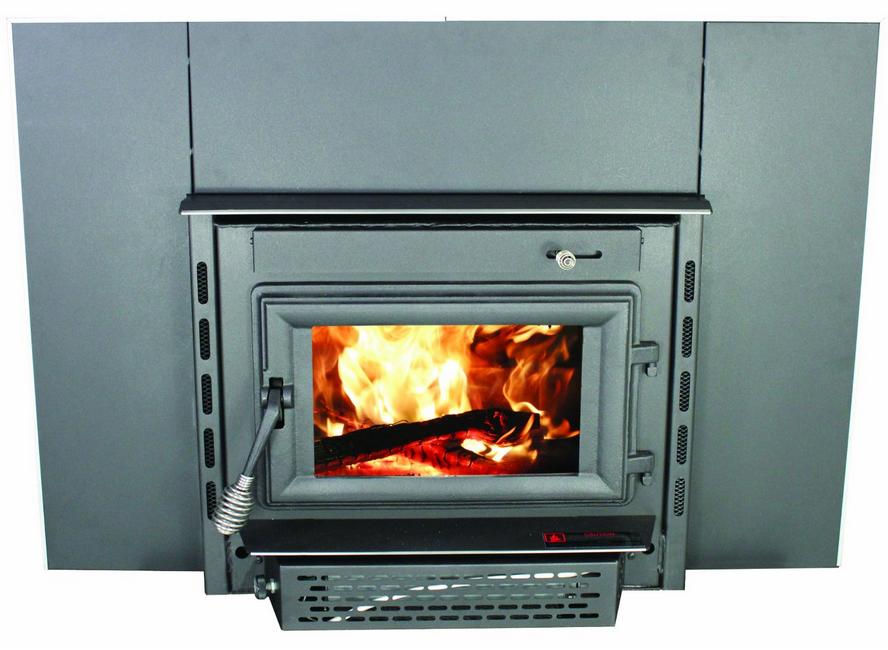Wood Burning Fireplace Insert 100 See Through Wood