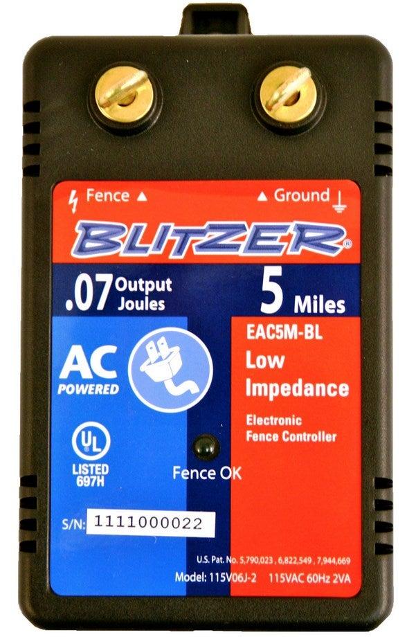Zareba 5 Mile Weed Chopper Fencer Blitzer 8574 Eac5m Bl Ebay